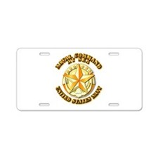 Navy - Command At Sea Aluminum License Plate