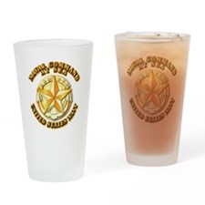 Navy - Command At Sea Drinking Glass