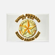 Navy - Command At Sea Rectangle Magnet