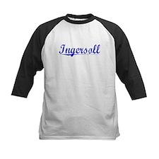 Ingersoll, Blue, Aged Tee
