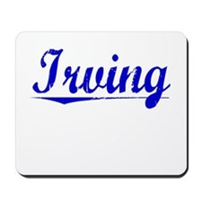 Irving, Blue, Aged Mousepad
