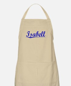 Isabell, Blue, Aged Apron