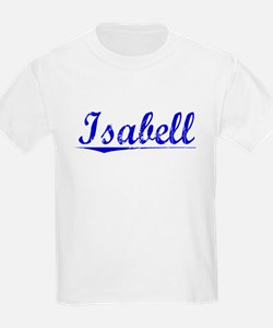 Isabell, Blue, Aged T-Shirt