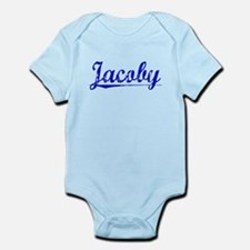 Jacoby, Blue, Aged Infant Bodysuit
