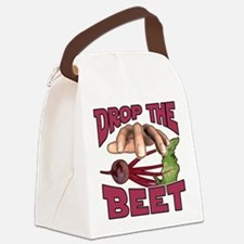 Drop the Beet Canvas Lunch Bag