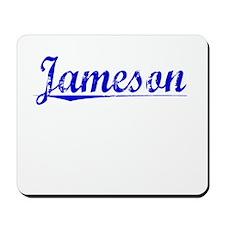 Jameson, Blue, Aged Mousepad