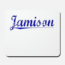 Jamison, Blue, Aged Mousepad