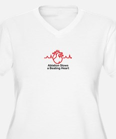 Ablation Slows A Beating Heart ™ 02 Plus Size T-Sh