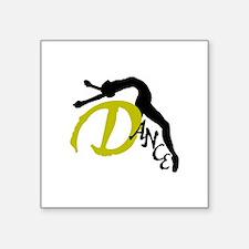 """Dance Arch Square Sticker 3"""" x 3"""""""