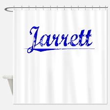 Jarrett, Blue, Aged Shower Curtain