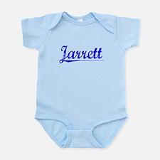 Jarrett, Blue, Aged Onesie
