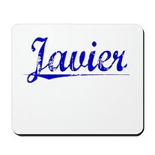 Javier, Blue, Aged Mousepad