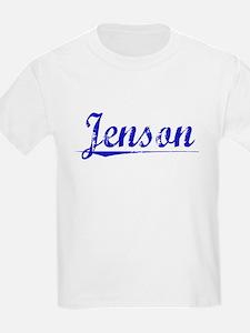 Jenson, Blue, Aged T-Shirt