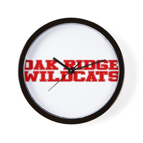 Oak Ridge Wildcats Wall Clock