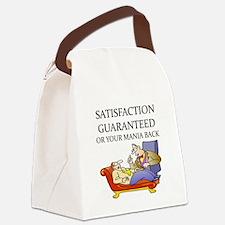 psychology joke Canvas Lunch Bag
