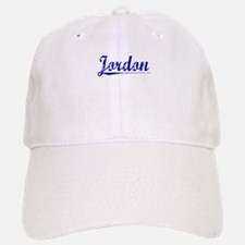 Jordon, Blue, Aged Baseball Baseball Cap