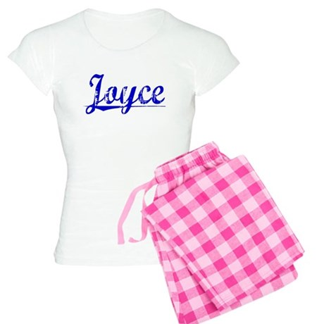 Joyce, Blue, Aged Women's Light Pajamas