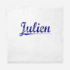 Julien, Blue, Aged Queen Duvet