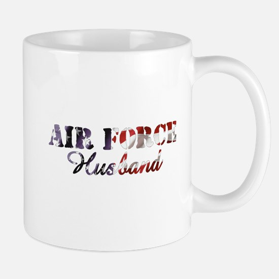 Air Force Husband American Flag Mug