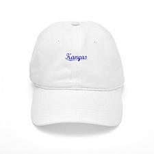Kangas, Blue, Aged Baseball Cap