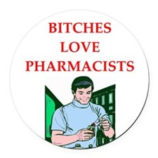 pharmacy Round Car Magnet