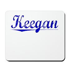 Keegan, Blue, Aged Mousepad