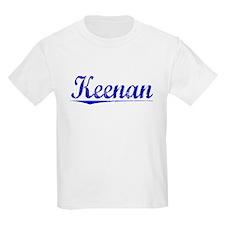 Keenan, Blue, Aged T-Shirt