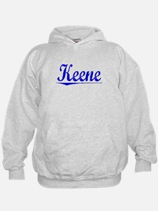 Keene, Blue, Aged Hoodie