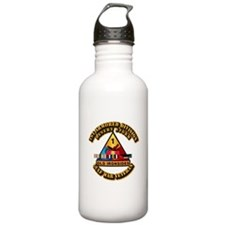 Army - DS - 1st AR Div Water Bottle