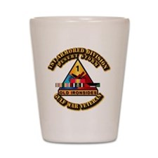 Army - DS - 1st AR Div Shot Glass
