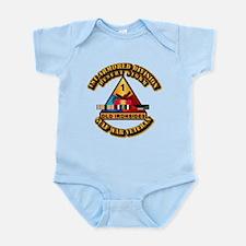 Army - DS - 1st AR Div Infant Bodysuit