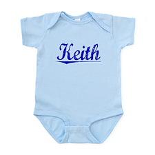 Keith, Blue, Aged Infant Bodysuit