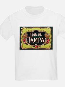 Flower of Tampa Kids T-Shirt