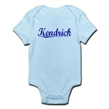 Kendrick, Blue, Aged Infant Bodysuit