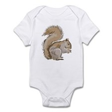 Realistic Squirrel Infant Creeper