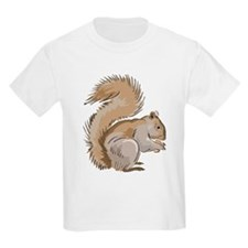 Realistic Squirrel Kids T-Shirt