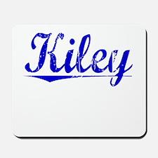 Kiley, Blue, Aged Mousepad