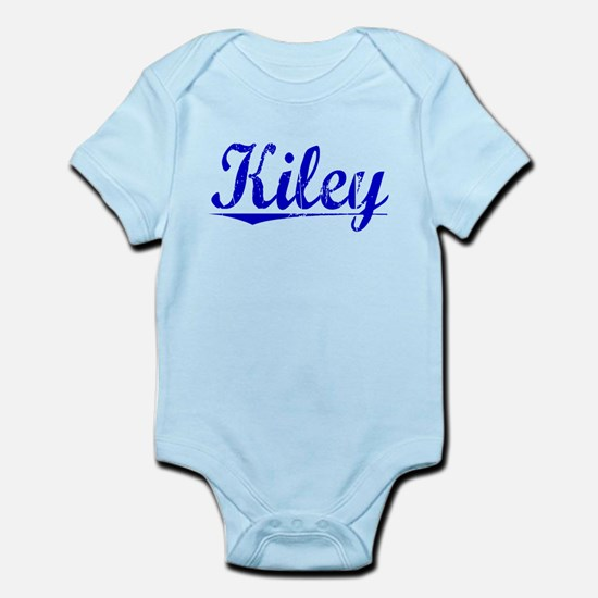 Kiley, Blue, Aged Infant Bodysuit