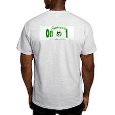 GrnSon1musicdance Ash Grey T-Shirt