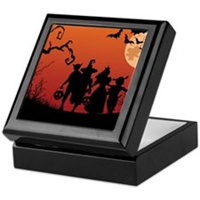 SPOOKY FRIENDS Keepsake Box