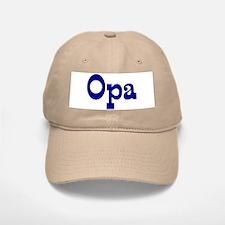 Opa Baseball Baseball Cap (white or khaki)