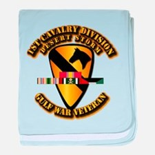 Army - DS - 1st Cav Div baby blanket