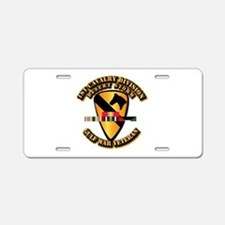 Army - DS - 1st Cav Div Aluminum License Plate