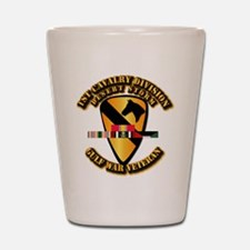 Army - DS - 1st Cav Div Shot Glass