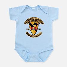 Army - DS - 1st Cav Div Infant Bodysuit
