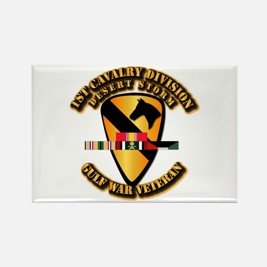 Army - DS - 1st Cav Div Rectangle Magnet (10 pack)