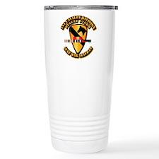 Army - DS - 1st Cav Div Travel Mug