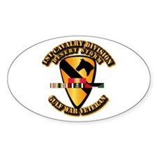 Army - DS - 1st Cav Div Decal