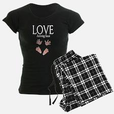 Love Arriving Soon Maternity Design Pajamas