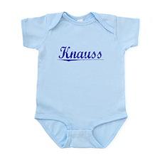 Knauss, Blue, Aged Infant Bodysuit